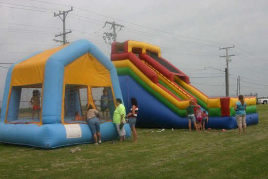 kids jumping tents on huge slide and a inflatable jumping tent were popular events with . & The Best Tent For Camping With Kids: where can I get pit balls ...