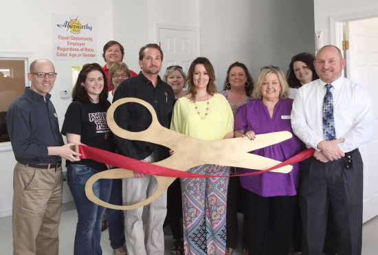 Abernathy Motors, owned and operated by Wesley Abernathy, celebrated its grand reopening in a new building with a ribbon-cutting ceremony Wednesday with ...