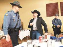 Local News: More than $50K raised for state troopers (3/12